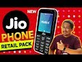 Jio Phone RETAIL PACK Unboxing Overview With Camera Samples