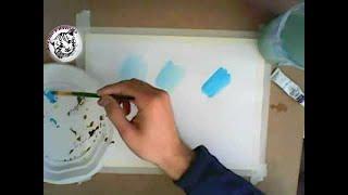 Técnicas de pintura con acuarela