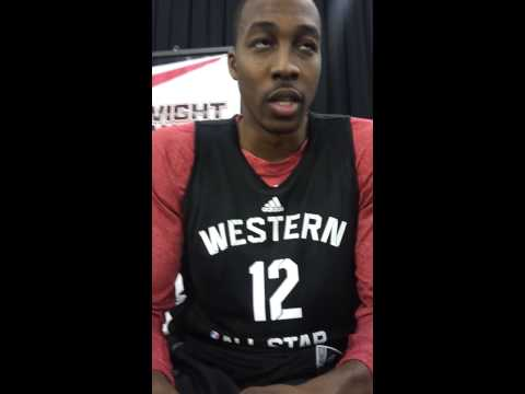 Atlanta Native Dwight Howard 2013 All-Star Game Interview
