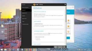 Enable Or Disable DeepScreen Option In Avast 2014 Antivirus