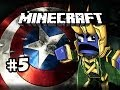 THOR VS CAPTAINS - Minecraft: Asgard Captain America SPECIAL w/Nova & Kootra Ep.5