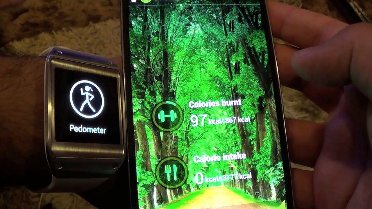 S Health với Galaxy Note 3 và Samsung Gear