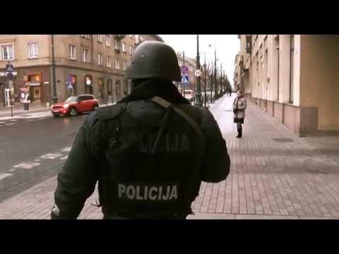 Apie sostinės policijos darbą LNK laidoje KK2