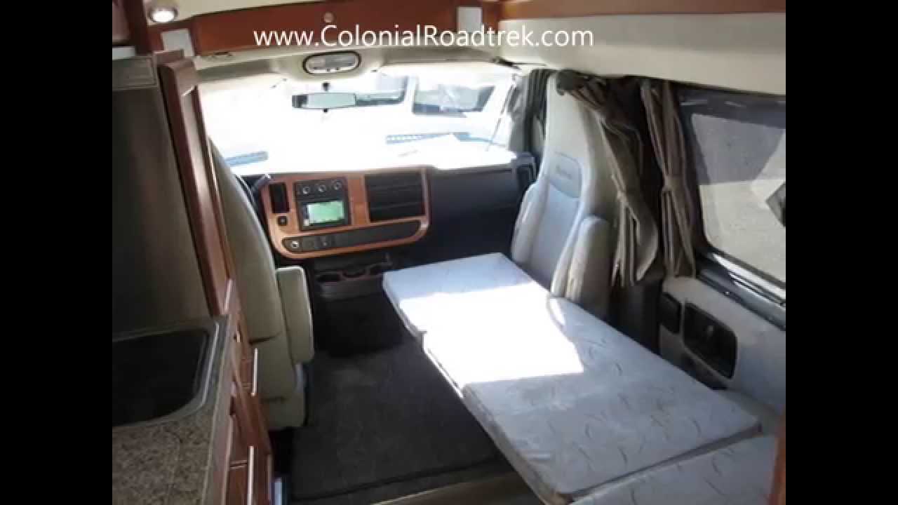 2013 Roadtrek 190-Popular Chevy Express One Ton Van Conversion for