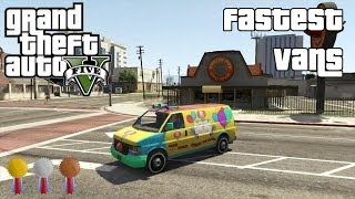 The Fastest Vans In GTA V