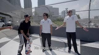 Juventus Legends get their skate on with Rodrigo Teixeira! | CONTAJUS