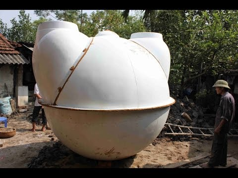 Hướn dẩn lắp đặt Hầm Biogas composite Quang Huy