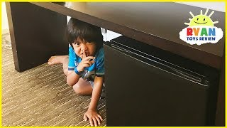 HIDE AND SEEK in Hotel Parent vs Kid and Surprise Toys Hunt