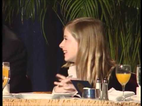 Jackie Evancho - NPB 2012 Introduction