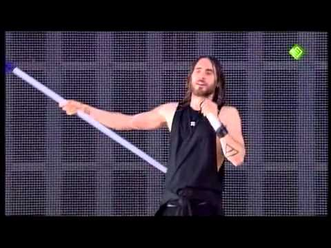 Thirty Seconds To Mars Interview and Do Or Die Pinkpop 2013