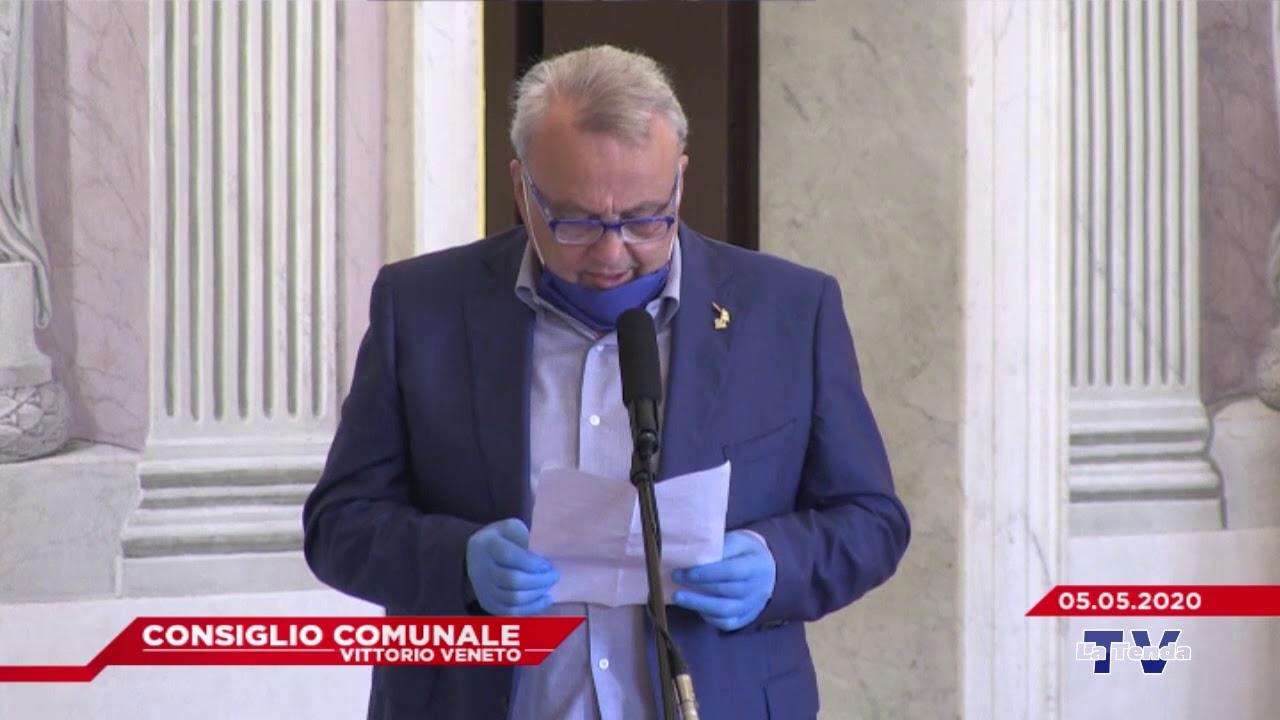 CONSIGLIO COMUNALE VITTORIO VENETO - Seduta del 05.05.2020