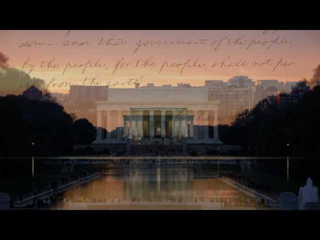 The Gettysburg Address by Kamahl - Dedicated to President Barack Obama (Official Video)