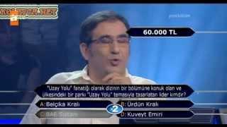 Kim Milyoner Olmak Ister 216. bölüm Osman Küçükosmanoğlu 07.05.2013