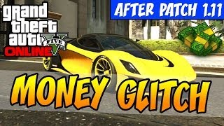 "GTA 5 ""Money Glitch After 1.11 Patch "" - Business Update DLC"