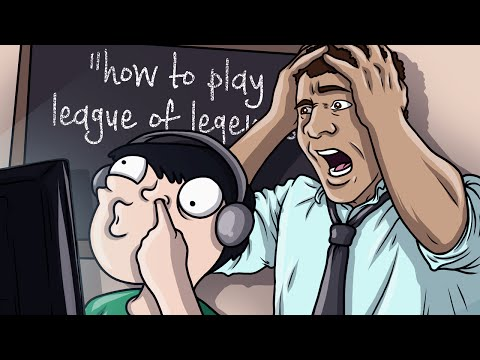 How (Not) To Play League of Legends! - League of Legends Funny Moments