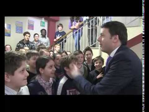 Matteo Renzi Visita Scuola e Chiesa a Treviso - Video Palazzo Chigi