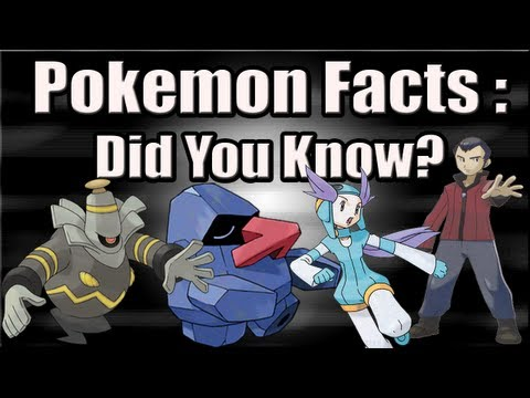 Pokemon Facts: Did You Know? Part 5 - The Pokémon of the spirit world, Subscribe! ► http://www.youtube.com/subscription_center?add_user=metrotechuniverse Facebook ► https://www.facebook.com/MetroTechUniverse Twitter ► https://tw...