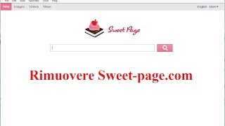 Rimuovere Sweet-page.com