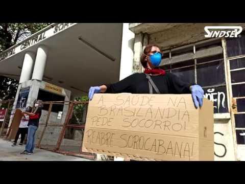 Sindicatos e população exigem de governo Covas/Doria reabertura do Hospital Sorocabana