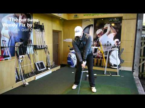 The Golf Swing The Weekly Fix Spine Angle and Golf Grip