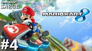 Testujemy grę Mario Kart 8 (gameplay #4) - Banana Cup (Zagrajmy w Mario Kart 8)
