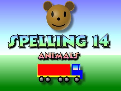 Children's: Spelling 14 - Animals
