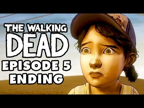 The Walking Dead Game - Episode 5, Part 6 - No Time Left Ending (Gameplay Walkthrough)