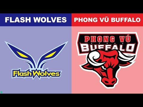 FW vs PVB - Worlds 2018 Group Stage Day 6 - Flash Wolves vs Phong Vũ Buffalo