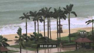 Typhoon Conson, China Extreme Weather Footage Screener HD 1920x1080 30p