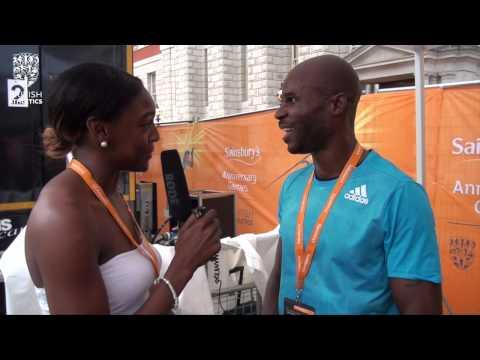 Kim Collins breaks St Kitts & Nevis national 100m record