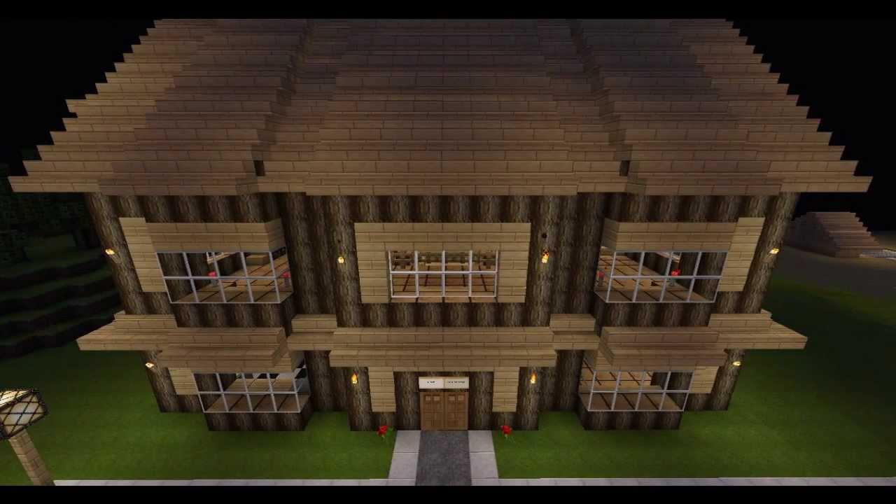 Minecraft villa moderne youtube