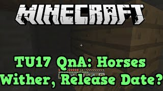 Minecraft PS3 Xbox 360 TU17 QnA: Horses, Command Blocks