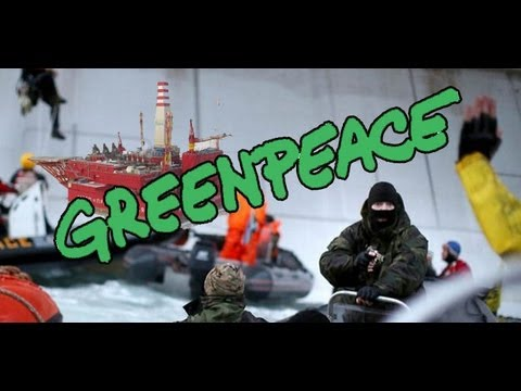 Greenpeace oil rig protesters held by armed Russian security forces