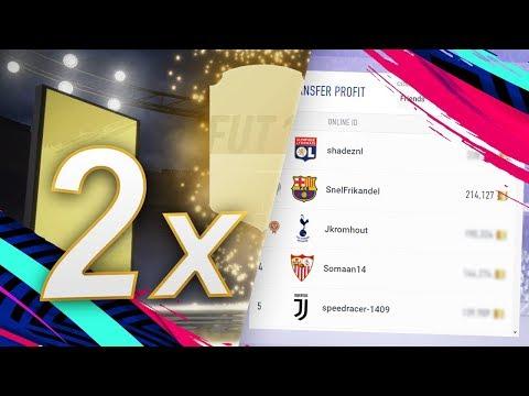TWEE WALKOUTS 1 PACK & EERSTE 200K IS BINNEN! || FIFA 19 Tips Nederlands
