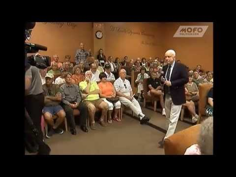 U.S. Citizen Tells Sen. John McCain To His Face He & President Obama Should Be Arrested For Treason
