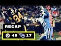 Pittsburgh Steelers vs Tennessee Titans Week 11 Thursday Night Football Recap ANTONIO BROWN WOW