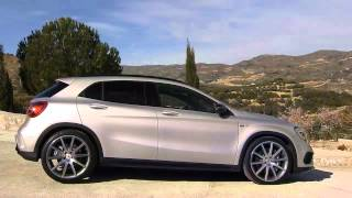 Mercedes j� oferece no Brasil os modelos apimentados do GLA a 45 AMG
