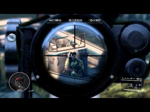 Let´s play: SNIPER Ghost Warrior 2 Singleplayer // Erste Eindrücke // Gameplay [PC/GERMAN/HD]