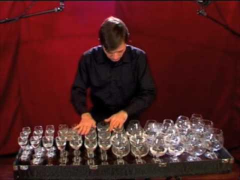【作業用BGM】ガラスの澄んだ音色が楽しめる、グラスハープ&アルモニカほか、ガラスの楽器動画まと