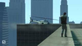 GTA IV: How To Steal A LCPD Police Helicopter