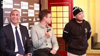 David Trezeguet launches Chinese Juventus App in Shanghai!