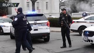 توقيف سيدة مسلحة صدمت بسيارتها حاجزا أمنيا للبيت الأبيض