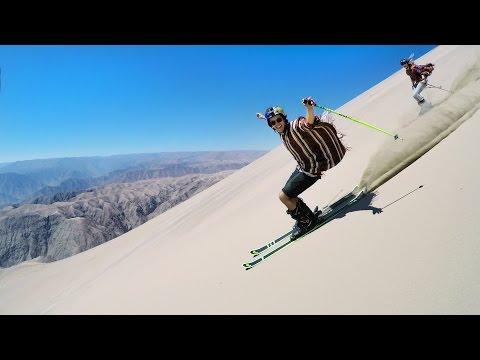 Peru Sand Skiing