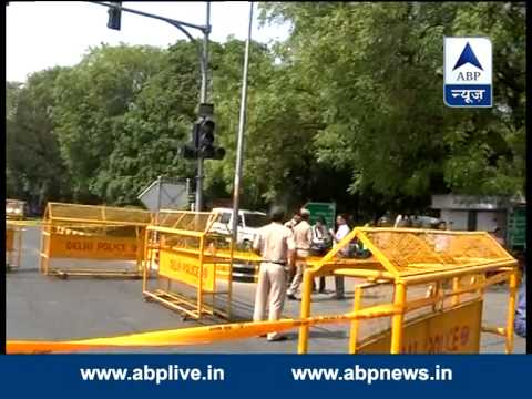 Spot where Gopinath Munde met with the accident