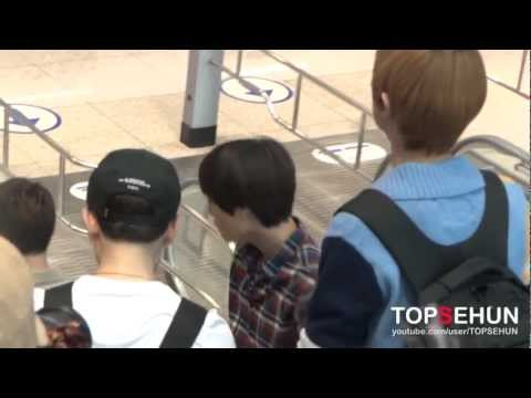 20120921 EXO-K Incheon Airport-3 (going to Jakarta)