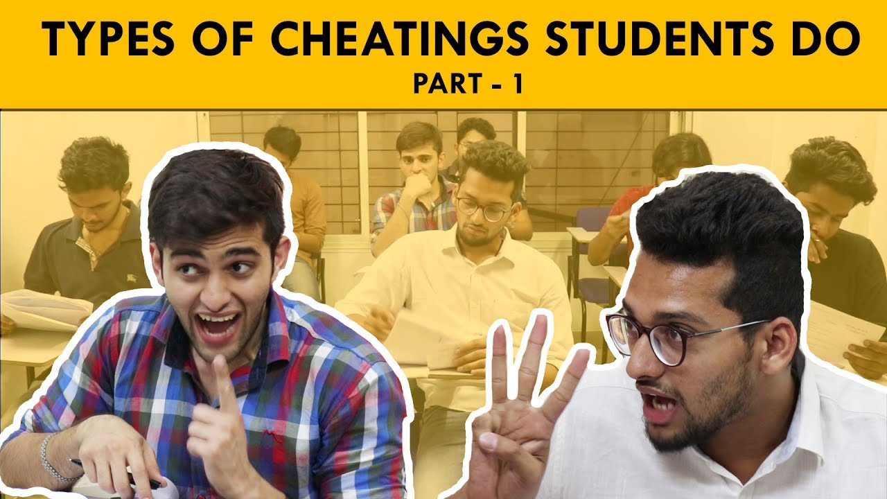 student cheating Academic dishonesty is wide-spread and problematic, in part, because it isn't even considered cheating five reasons why parents need to talk about it.