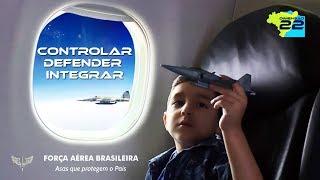 """O vídeo institucional """"Dimensão 22"""" demonstra a responsabilidade da Força Aérea Brasileira nas ações de Controlar, Defender e Integrar em um cenário tridimensional de 22 milhões de km2."""