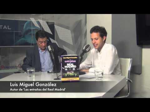 Luis Miguel González, autor de 'Las entrañas del Real Madrid'. 11-6-2014
