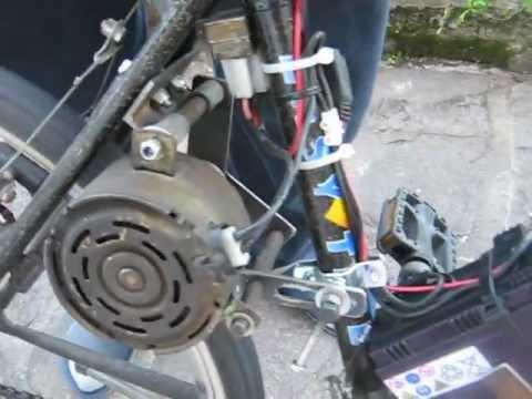 Bicicletta elettrica fai da te youtube for Sifone elettrico per acquario fai da te