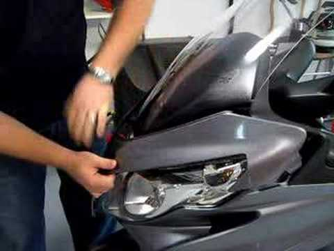 Part 1 of 3 - Suzuki Burgman 400 Windshield Replacement
